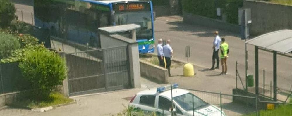 Ruba il borsello dell'autista   Un minorenne sull'autobus