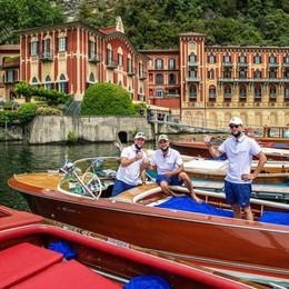 Scene da Dolce Vita  Gioielli vintage  sfilano a Villa d'Este