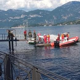 Scontro tra motoscafi  Un morto e due feriti  nelle acque di Tremezzina