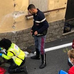 Scooter contro camion  Ferito ragazzo di 16 anni