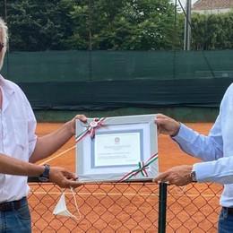 Tennis, lotta all'autismo  Un premio per il Como
