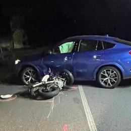 Tragico incidente nella notte Muore un motociclista