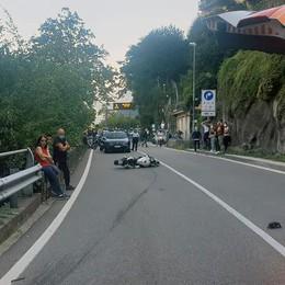 Altra tragedia sulla Regina  Morto un motociclista a Brienno