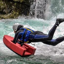 Infarto mentre fa sport nel torrente   Morto giovane di Lurago Marinone