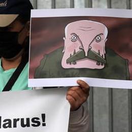 Giornalisti bielorussi al Parlamento, Lukashenko ci vuole eliminare