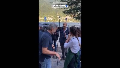 George Clooney a Laglio 3