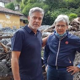 George Clooney a Laglio   I VIDEO con i cittadini
