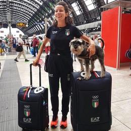 Giorgi, destinazione Olimpiadi Tra scioperi di aerei e tifone