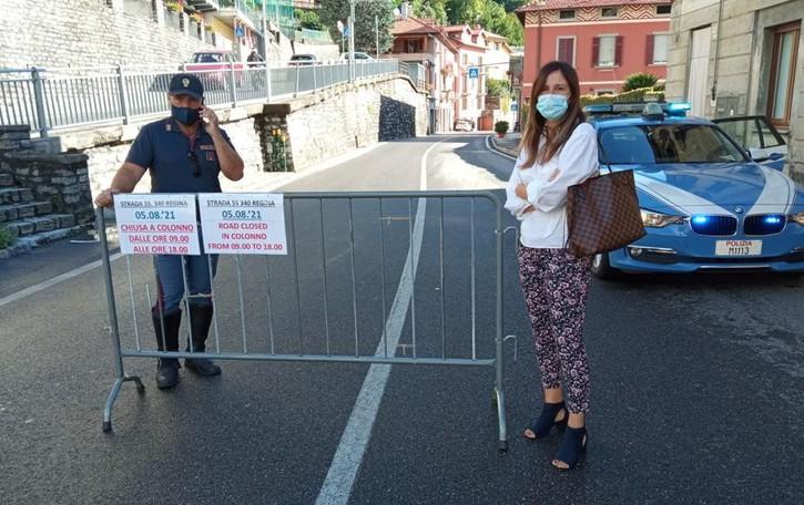 Regina riaperta  al traffico  Via libera tra Argegno e Colonno