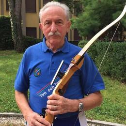 Erba, la scomparsa di Santambrogio  È stato il pioniere del tiro con l'arco