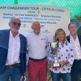 Bentornato Challenger di Como Da domani in campo a Villa Olmo