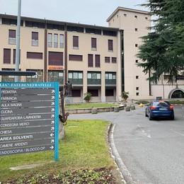 L'ospedale di Erba  apre alle visite parenti
