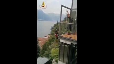 Pognana Lario - Intervento all'Hotel Villa Lario