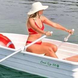 Solo plastica green  La prima barca  è realizzata a Como