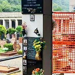 Cimitero di Monte Olimpino  «Un disastro, che abbandono»