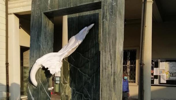Monumento degli alpini di Mariano  «In nobile marmo, come il loro animo»