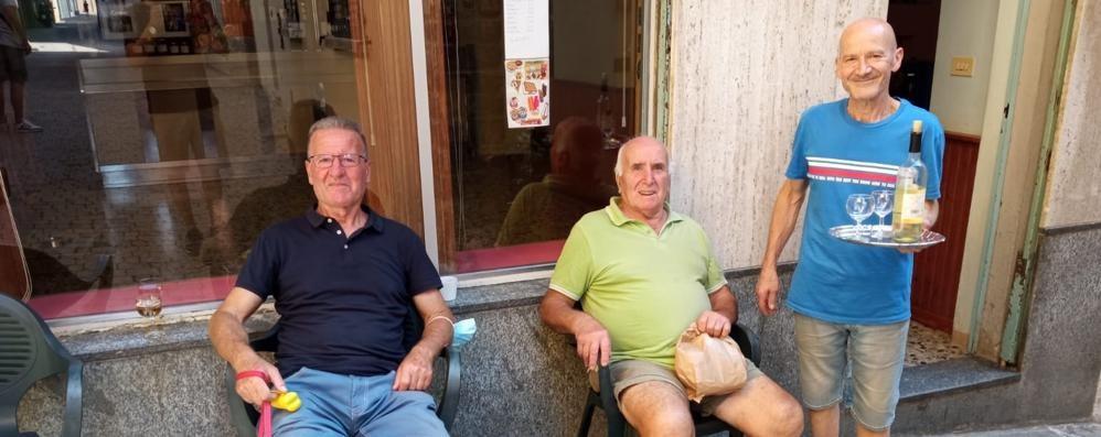 Sala Comacina, riaperto il bar   devastato dall'alluvione