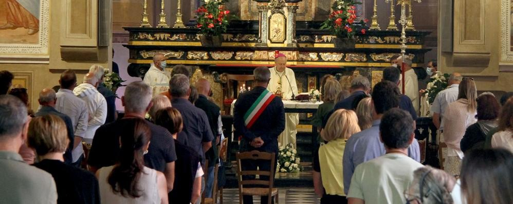 Il vescovo al Santuario di Ossuccio  «Questo è il tempo della solidarietà»
